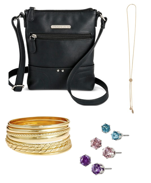 Bag, Bangles, Earrings & Necklace All For $25.91!