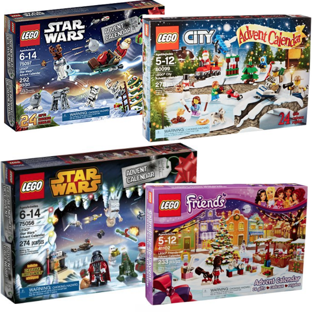 LEGO Advent Calendars Starting At $29.97!