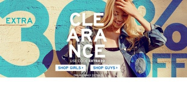 Extra 30% Off Clearance at Aero Plus $5 Shipping with Code EXTRA30!