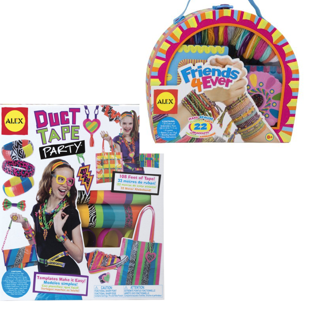 Alex Art & Crafts: Buy Duct Tape Party Get DIY Wear Friend 4 Ever FREE Both $15.20!
