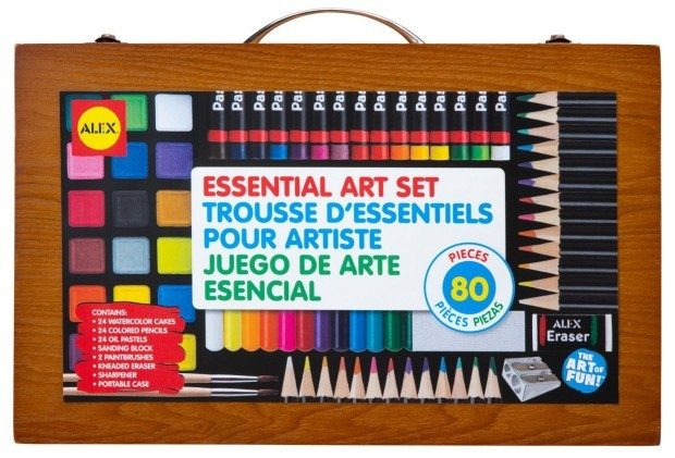 ALEX Toys Artist Studio Portable Essential Art Supplies Set Only $15.03! (reg. $36.50)