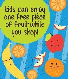 FREE Fruit For Kids At Market Street!