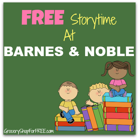 FREE Storytime At Barnes & Noble On June 6!