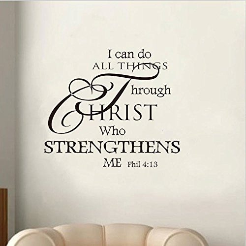 I Can Do All Things Through Christ... Only $3.60 Plus FREE Shipping!