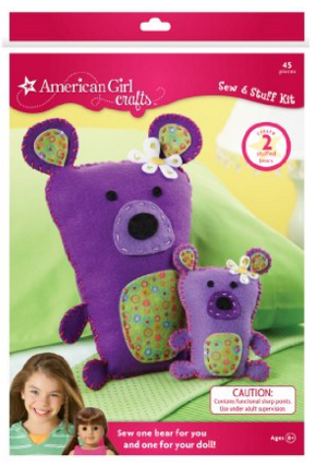 American Girl Crafts Bears Sew And Stuff Kit Just $15 Down From $17!