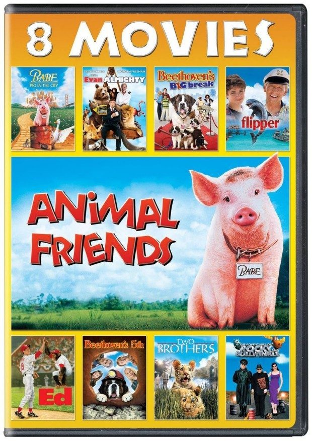 Animal Friends 8-Movie Collection Was $15 Now Just $6!