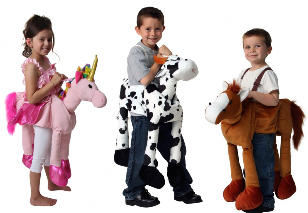 Fun Stuffed Ride-On Animals Only $14.99!