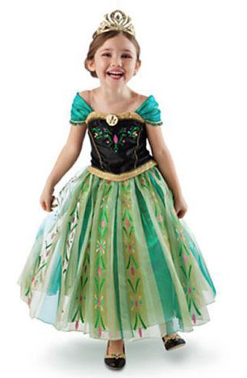 Frozen Anna Dress Costume Just $15.86! Ships FREE!