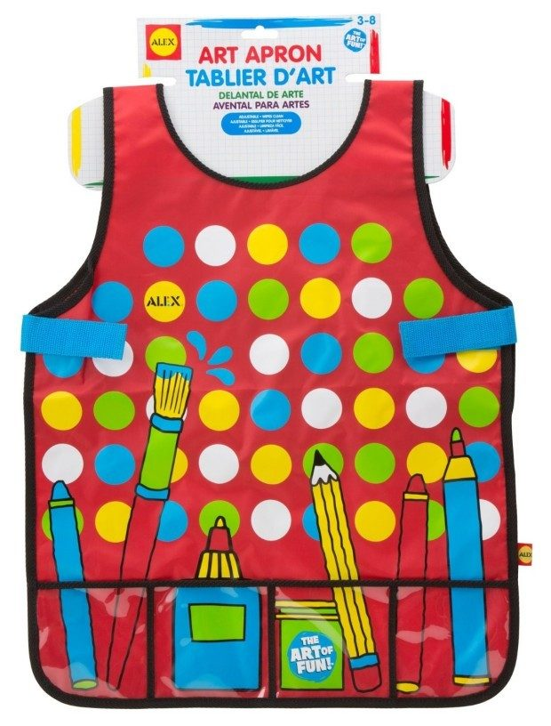 ALEX Toys Artist Studio Art Apron with Pockets Just $6.31! Down From $15.50!