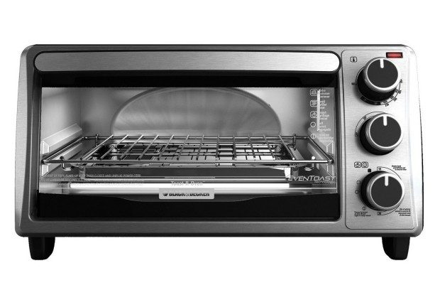 ime Exclusive: Black+Decker 4-Slice Toaster Oven, Silver Only $23.99! (Reg. $40)!