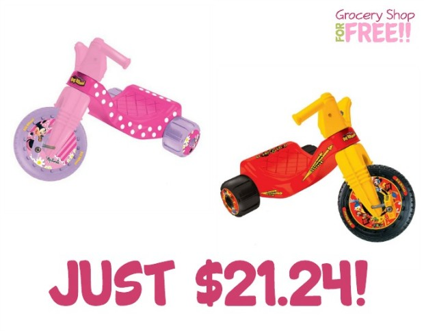 Big Wheel Junior Rider Ride-Ons Just $21.24!  Down From $79.99!