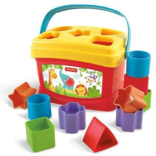 Fisher-Price Brilliant Basics Baby's First Blocks Only $7.99!