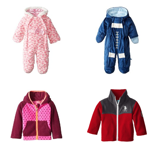 Baby Girl or Boy Jackets & Coats Starting At $5 Each!