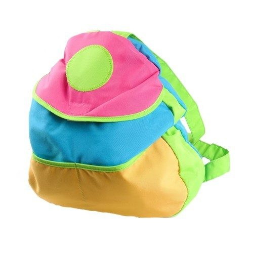 Colorful Kids 15 inch Backpack with Velcro Closure and Adjustable Straps Just $3.99 Down From $29.99 At GearXS! Ships FREE!
