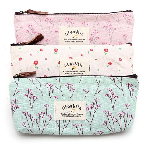Floral Cosmetic Cases 3 Pc Set Only $2.48 + FREE Shipping!
