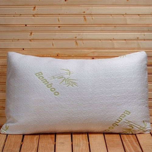 Bamboo Memory Foam Hypoallergenic Pillow Only $17.99! Ships FREE!