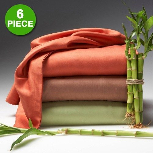Organic Bamboo 6 Pc Sheet Sets Queen Just $26.99 Plus FREE Shipping!