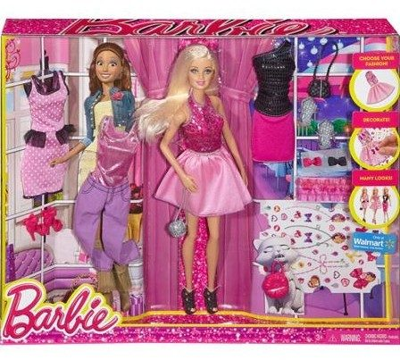 Barbie Fashion Activity Gift Set Only $13, Regularly $30!