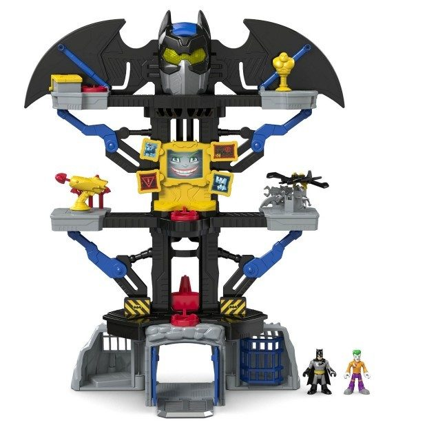 Fisher-Price Imaginext DC Super Friends Transforming Batcave Only $29.99! Down From $60!