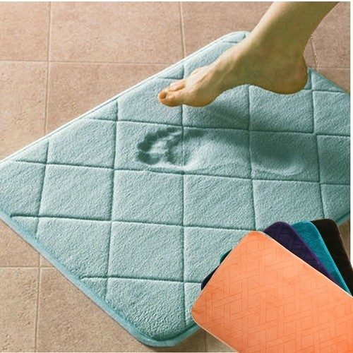 Atelier Absolute Large Luxury Memory Foam Bath Mat Just $8.99 Down From $49.99 At GearXS! Ships FREE!