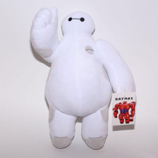 Big Hero 6 Baymax Plush Just $16.28! Ships FREE!