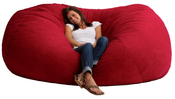 Comfort Research 7-Foot XXL Fuf In Comfort Suede, Sierra Red Just $104 Down From $230!