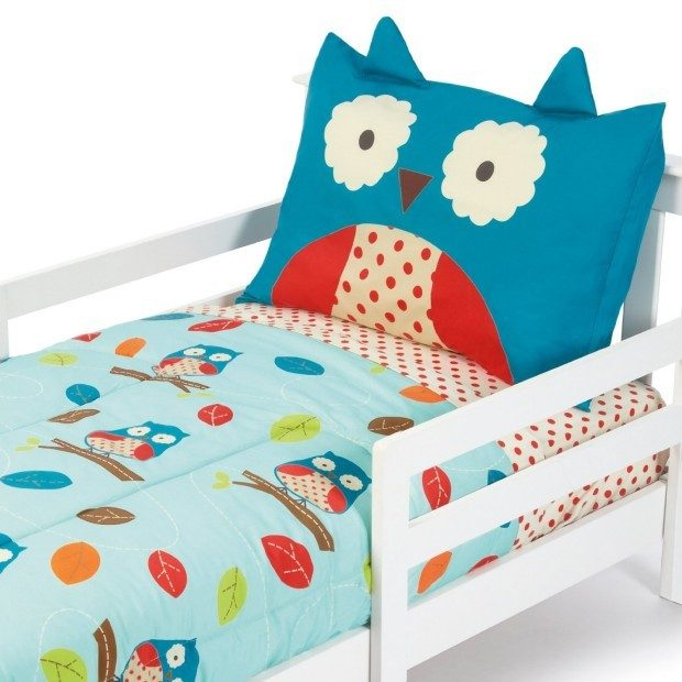 Skip Hop Owl 4 Pc Toddler Bedding Set Only $39.99 + FREE Shipping!