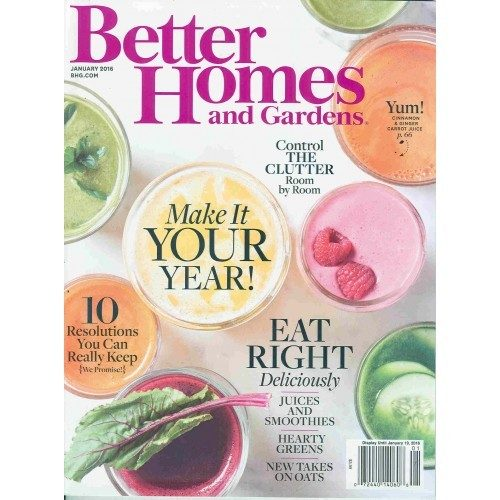 FREE Subscription To Better Homes And Gardens!