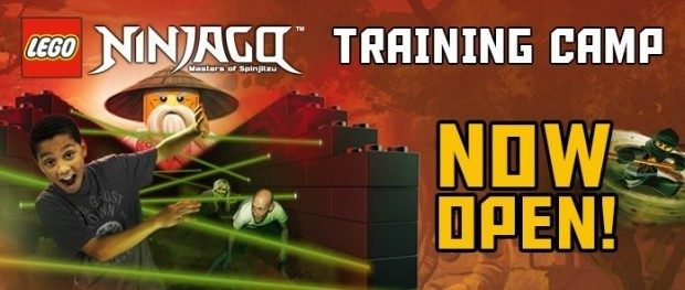 LEGOLAND® Ninjago Training Camp Now Open!  Special Events This Weekend ONLY At DFW Location!