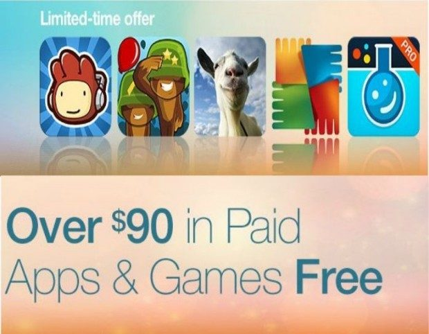 Over $90 In FREE Apps & Games For Android Users!