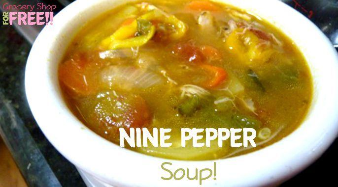 Nine Pepper Soup Recipe!