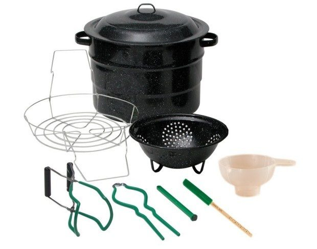 Granite Ware Enamel-on-Steel 9pc Canning Kit Just $29.64!  Down From $70.99!