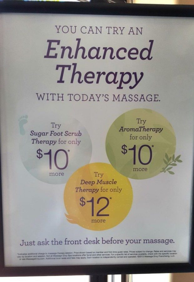 My Trip To Massage Envy Spa!
