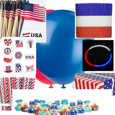 Fourth Of July Party Fun! - Items Starting At $2!