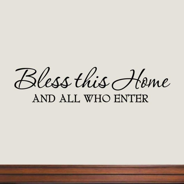 Bless This Home Wall Decal Only $3.39 + FREE Shipping!