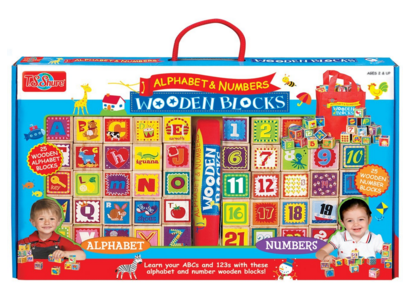 T.S. Shure Cutesie Wooden Blocks Just $20 Down From $40!