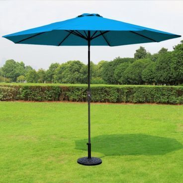 9 ft Polyester Outdoor Patio Umbrella