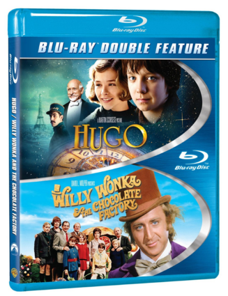 Hugo / Willy Wonka & The Chocolate Factory [Blu-ray] Just $7 Down From $10!