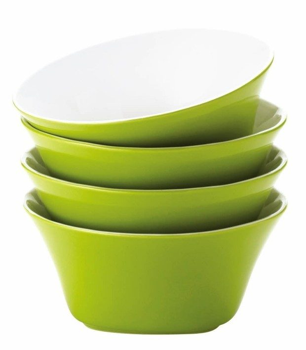Rachael Ray Dinnerware Round & Square 4-Piece Cereal Bowl Set Just $9.99! (Reg. $40!)