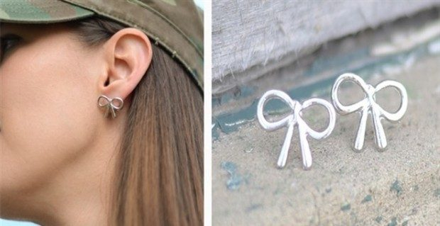 Simple Bow Earrings Only $1.99 At Jane!