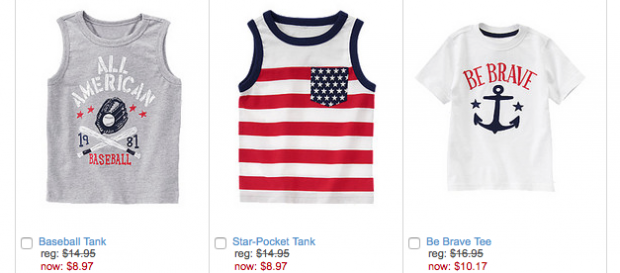 Boys Summer Tops As Low As $8.97!