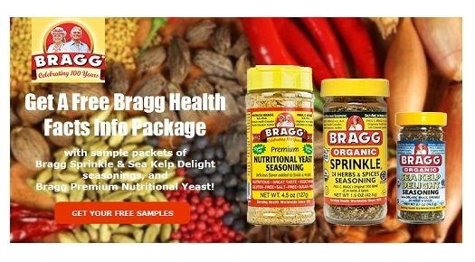 FREE Bragg Seasoning Samples!