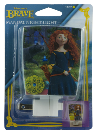 Disney/Pixar Wrap Shade Incandescent Night Light (Pixar's Brave) Just $3 Down From $12!