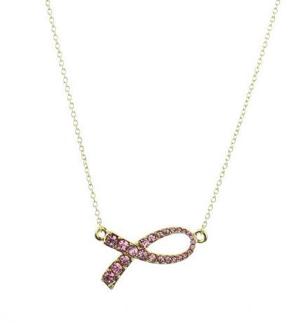 Breast Cancer Awareness Necklace Only $5.95!