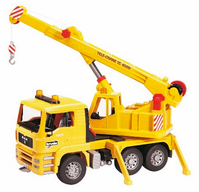 Bruder MAN Crane Truck Only $26.68 (reg. $64.99)! Lowest Price!