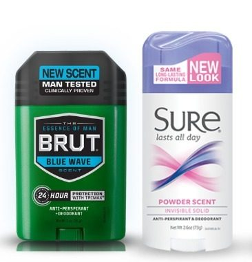 FREE Brut or Sure Deodorant at Rite Aid (Starting 5/3)!