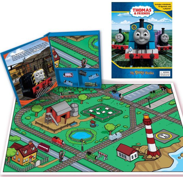 Thomas & Friends (My Busy Books) Only $12.99!