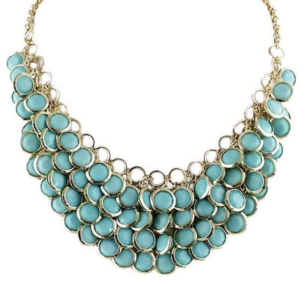 Cute Bead Statement Necklace Just $5.99!