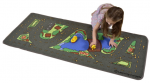 Learning Carpets Drive Around The Park, 27 x 60″ Just $12.71 Down From $30!