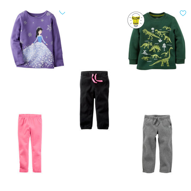 Tops Starting At $3.74, Leggings $4.50, Thermal Tops $5.25, Pants $6!